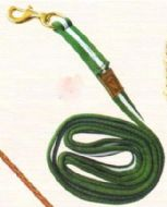 Excellent quality nylon lead rope with hook in a choice of lengths